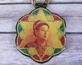 Queen Menen Asfaw Rasta Medallion/Necklace