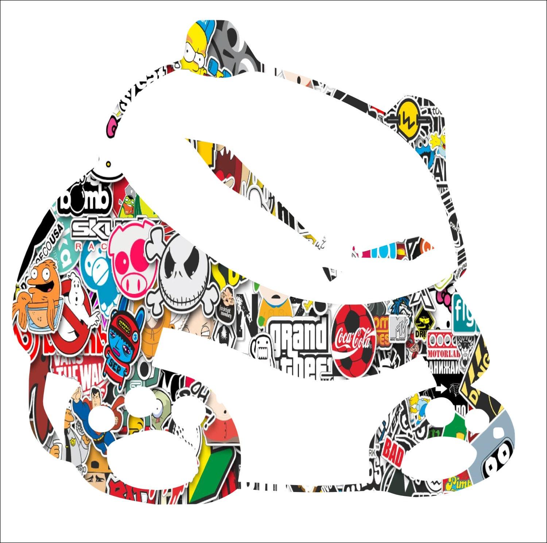 Jdm Panda Sticker Bomb Decal Vinyl Sticker Anime Nismo Honda