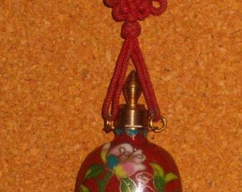 Vintage Cloisonne Bottle Necklace