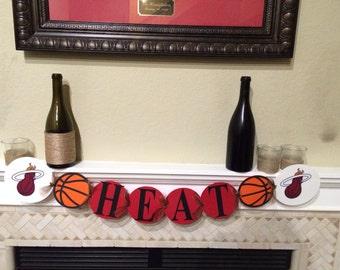 Miami Heat Basketball Banner