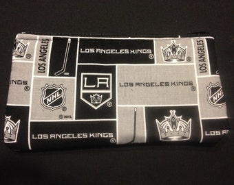 NHL LA Kings Pencil Case / Zipper Pouch #113
