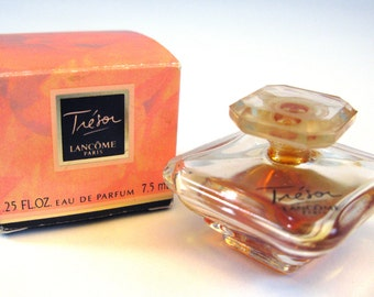 Vintage Tresor Perfume Miniature By Lancome 7 5 Ml 25 Oz