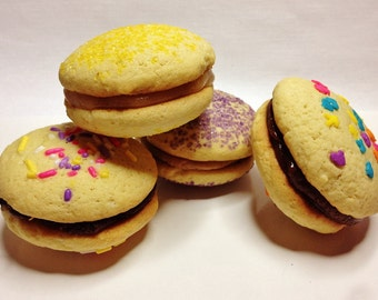 Decorated Sugar Cookie Caliwiches