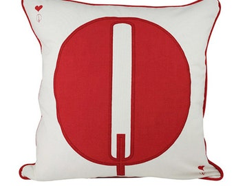 Queen Cushion Cover. Pillow Cover.