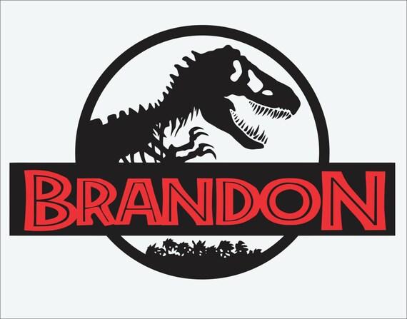 Jurassic park wall decaldinosaur boys roomt rexkid39s for Best 20 jurassic park wall decal