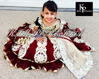 Lehenga Choli Dupatta for Kids