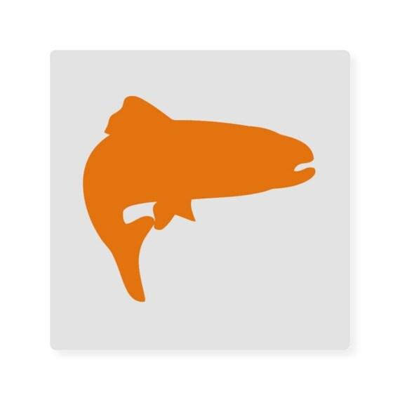 Trout Fish 277 Diy Stencil Clear Plastic Acrylic By