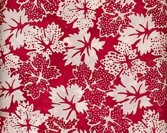 Hoffman Indonesian Batik Sold per Fat Quarters for Quilting/Clothing/Home Decor/ Crafting and more