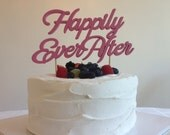 Happily Ever After - Classic Wedding Cake Topper