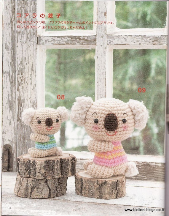 Amigurumi Plushie Japanese eBook Pattern AMI25 Instant by ...