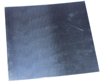 "Nickel Silver Sheet 18ga 6"" x 6"" 1.02mm Thick  (NS18-6)"