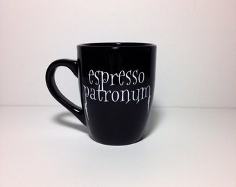 Espresso Patronum. coffee mug