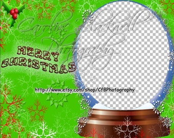 Fun Christmas digital frames Png format