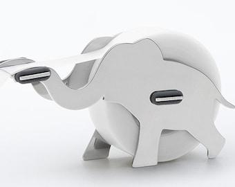Stainless Steel Tape Dispenser [Elephant]
