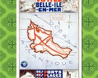 France Travel Poster Wall Decor, Travel Art
