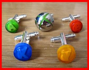 Xbox Button Cufflinks (Pair)