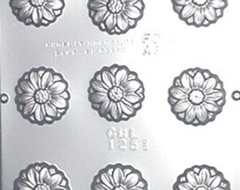Daisy Chocolate Candy Mold 1251