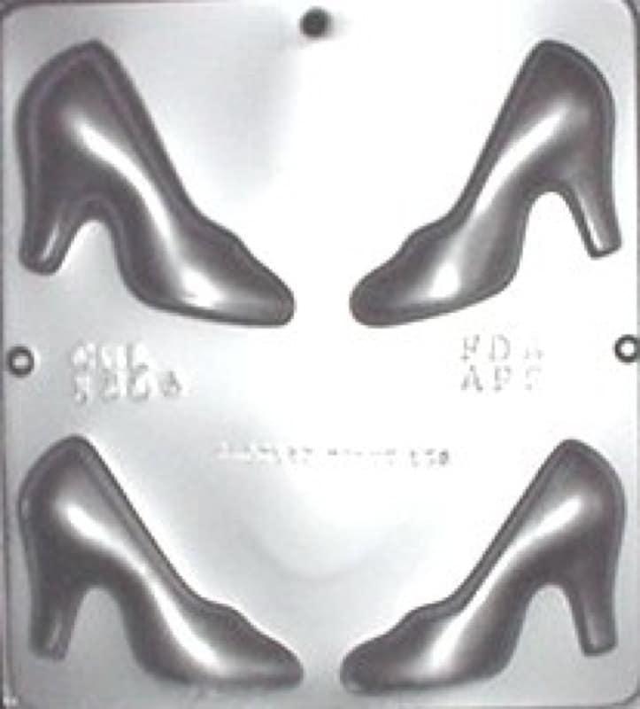 high heel shoe chocolate mold 1304