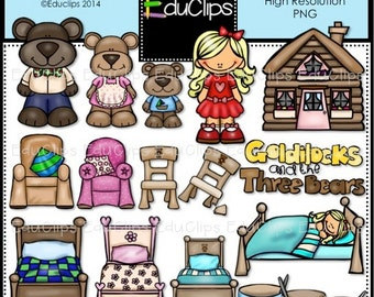 Goldilocks Clip Art Bundle