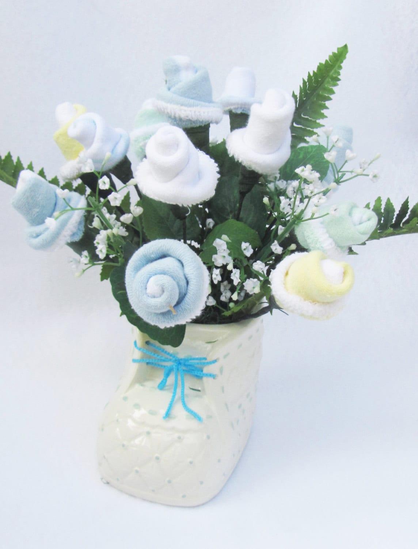 Baby Shower Decoration Baby Boy Gift Baby Boy Flower