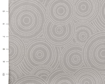 Max & Bunny Dotted Swirls Grey by Andover (sold by the 1/4 yard)