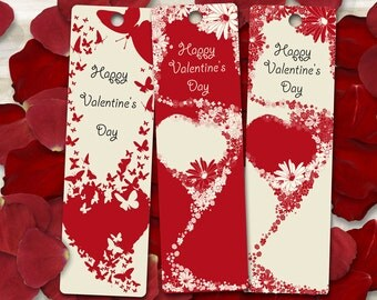 3 Valentine's Day printable labels