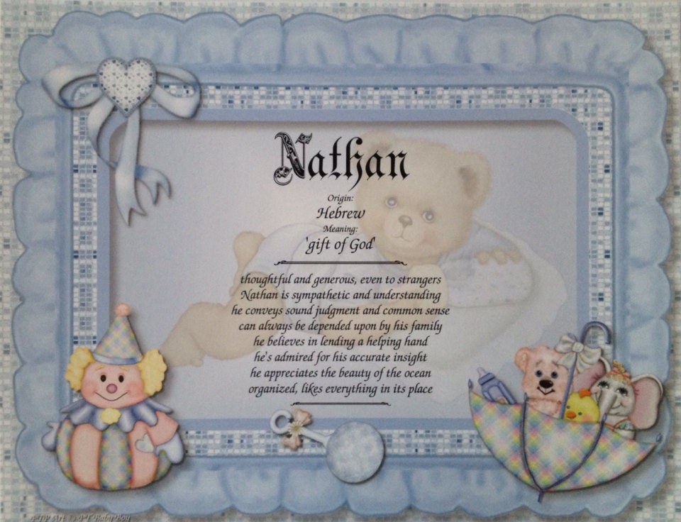 Baby Boy Gifts With Name : Baby boy gift new personalized first name