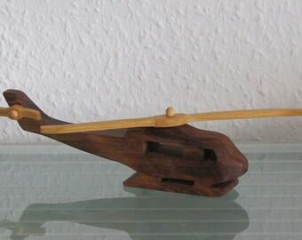 Huey helicopter HANDMADE wood