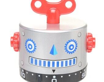 SILVER ROBOT TIMER