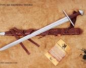 Type XII Medieval Sword (#1541)