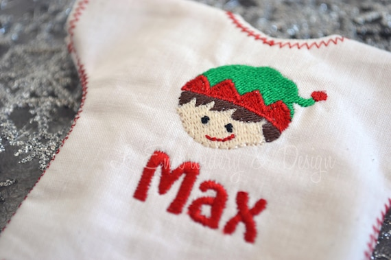 Custom Made Personalized Elf Toy Shirt for Christmas