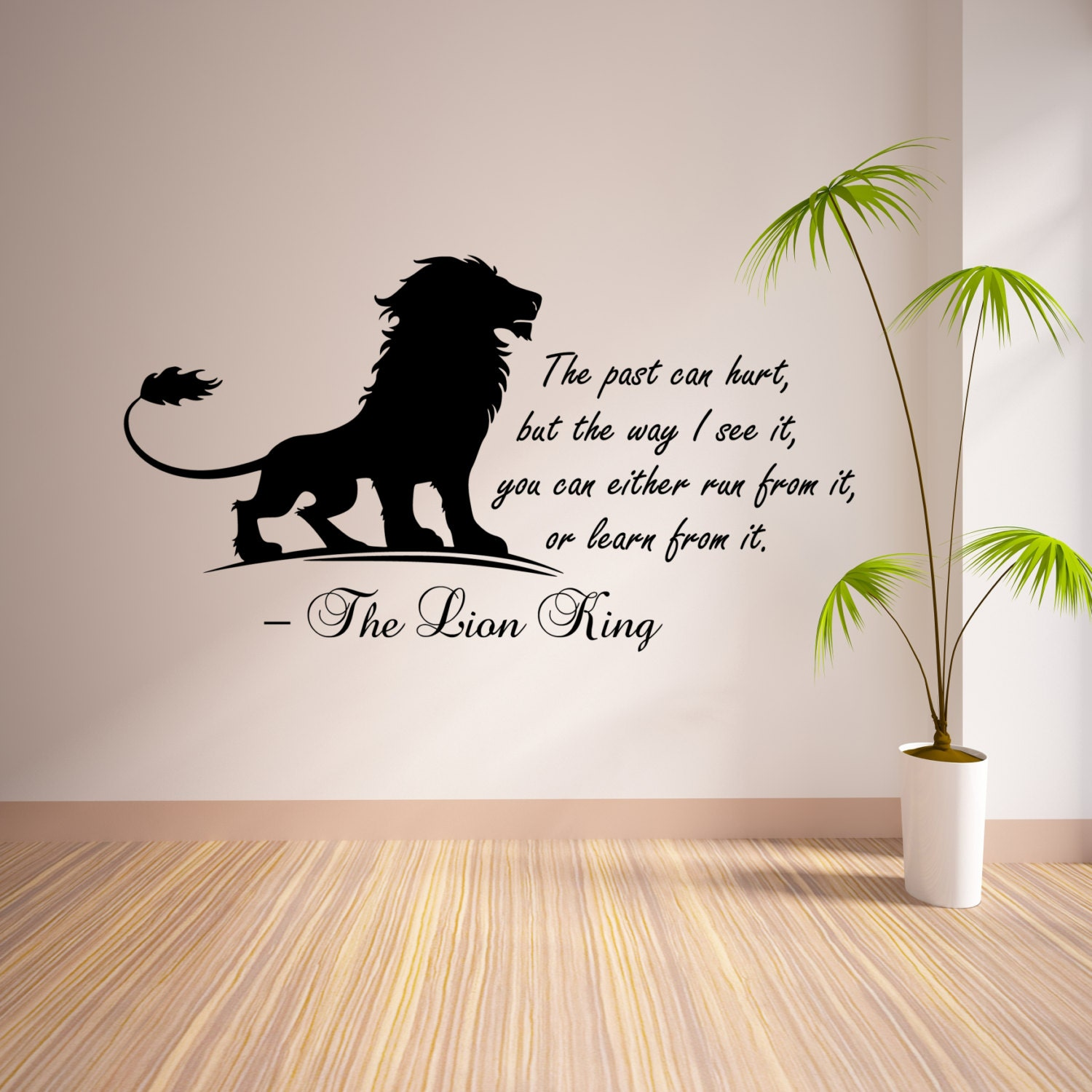 Lion King Bedroom Decorations The Lion King Inspirational Wall Sticker Quote Kids Bedroom