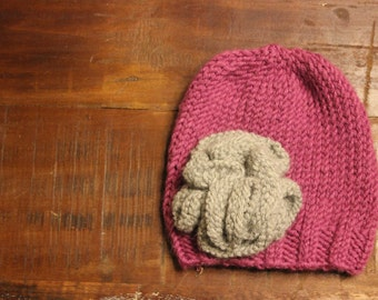Adorable Newborn Knit Hat
