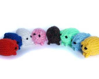 Tiny Cute Hamster Plush or Keychain