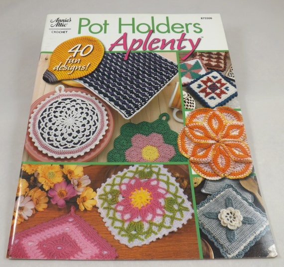 Crochet pot holder patterns.