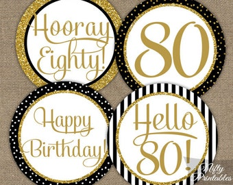 80th birthday decor etsy for 80th birthday decoration