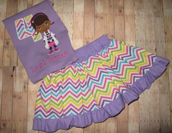 Custom Doc McStuffins Birthday Outfit