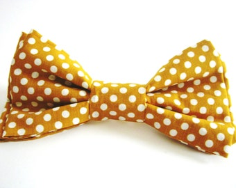 Popular Items For Polka Dot Bowtie On Etsy