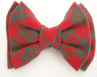 Dog Bow Tie Removable Red Dog Bowtie