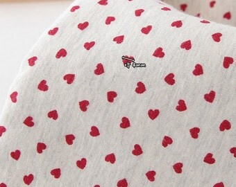 Cotton Jersey Knit Fabric Red Heart By The Yard