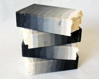 The Perfect Man Soap / Cold Process Men's Soap / Ombre Soap