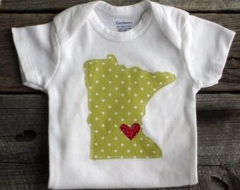 State of Minnesota Onesie