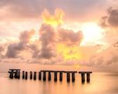 Abandoned Pier - Florida Photography - Boca Grande / Gasparilla Island - Photographic Print