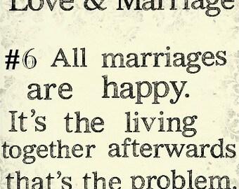 Funny Love / Anniversary / Wedding Card