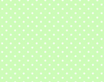 Mint with White Dots - Pam Kitty