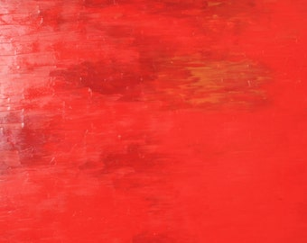 Red chinese - 24 x 34 inches