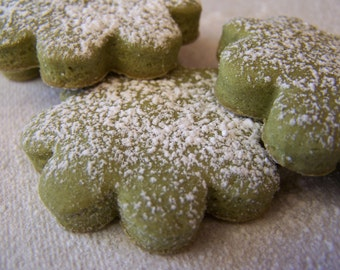 Soft and Sweet Premium Matcha Cookies -  1 dz