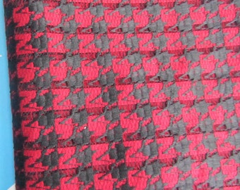 "1.8yard* 57"" hounds tooth fabric,lace fabric for sewing,houndstooth fabric"