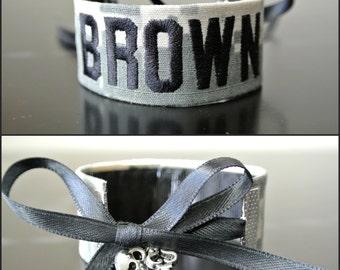Army - Personalized Name Tape Bracelet