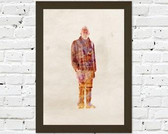 0038 Dr Who John Hurt A3 Wall Art Print Multiple Sizes